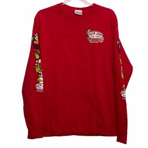 Ron Jon Surf Shop Red Long Sleeve Shirt size Small